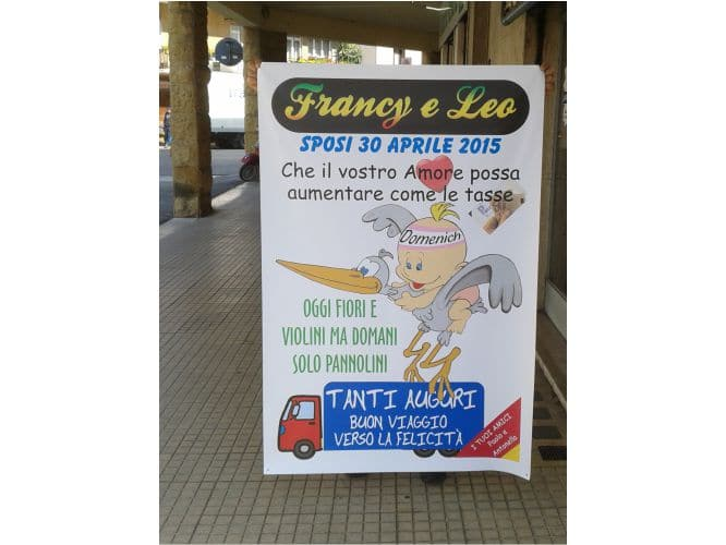 striscione-francy-e-leo